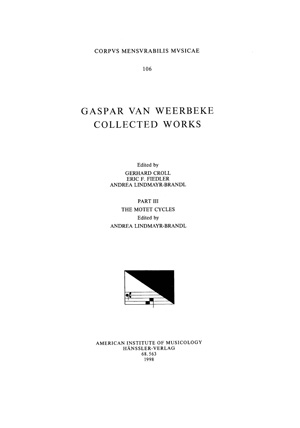 CMM 106-3 Cover
